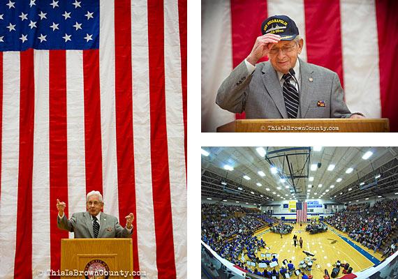Ed Harrell, USS Indianapolis Survivor, Veterans Day