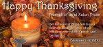 A Thanksgiving message for each of our authors and all those who are part of our Xulon Press family