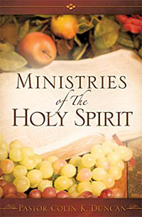 Xulon Press book, Ministries of The Holy Spirit, Comfort Food