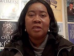 Author Pauline P Thompson shares her publishing experience at the London Book Fair