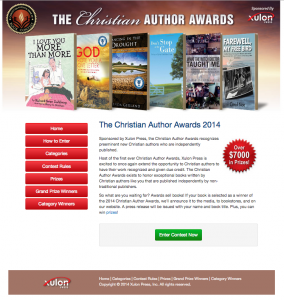 Sponsored by Xulon Press, the Christian Author Awards recognizes preeminent new Christian authors who are independently published.