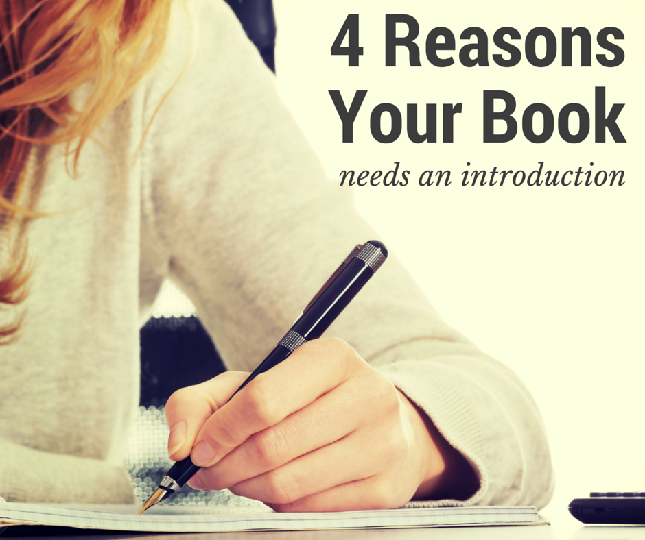 why does your book need an introduction