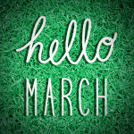 Hello March! Trendy New Ways to Buy Books, Easter Prayers & National Grammar Day.
