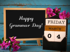 Top 10 Ways to Celebrate National Grammar Day