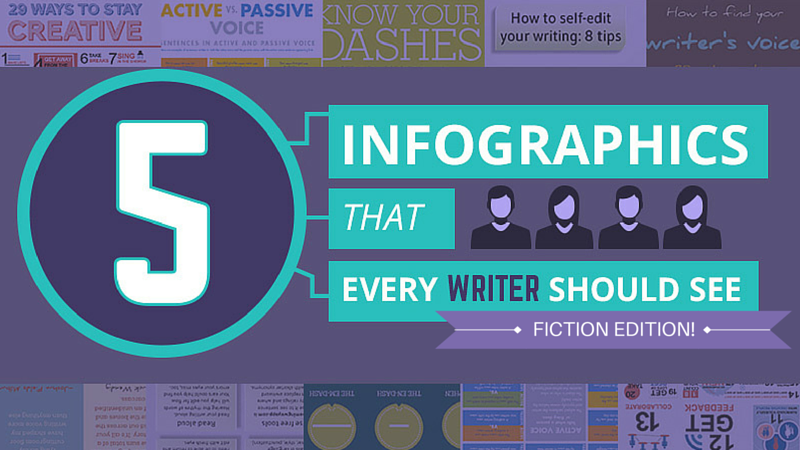 5 Infographics Every Writer Should See—The Fiction Edition!
