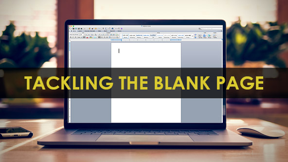 New Year's Resolution: Tackling the Blank Page